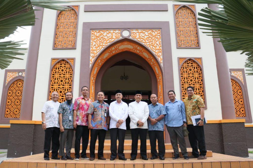 Jalin Silahturahmi, Syamsuar Dan Edy Kunjungi Politeknik Caltex Riau