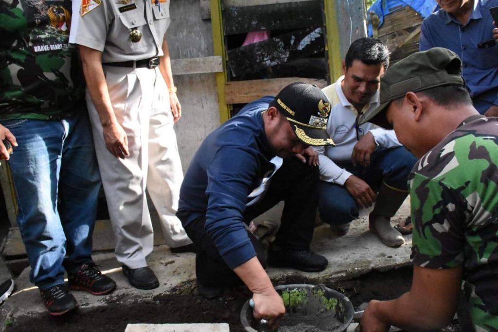 Plt.Bupati Kampar Apresiasi Kerjasama TNI Dengan Masyarakat