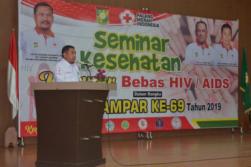 Plt Bupati Kampar Buka Seminar Kesehatan