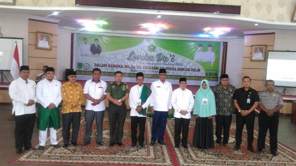 Yayasan Ar-Ridha Bagansiapiapi Gelar Lomba Dai Se-Rohil
