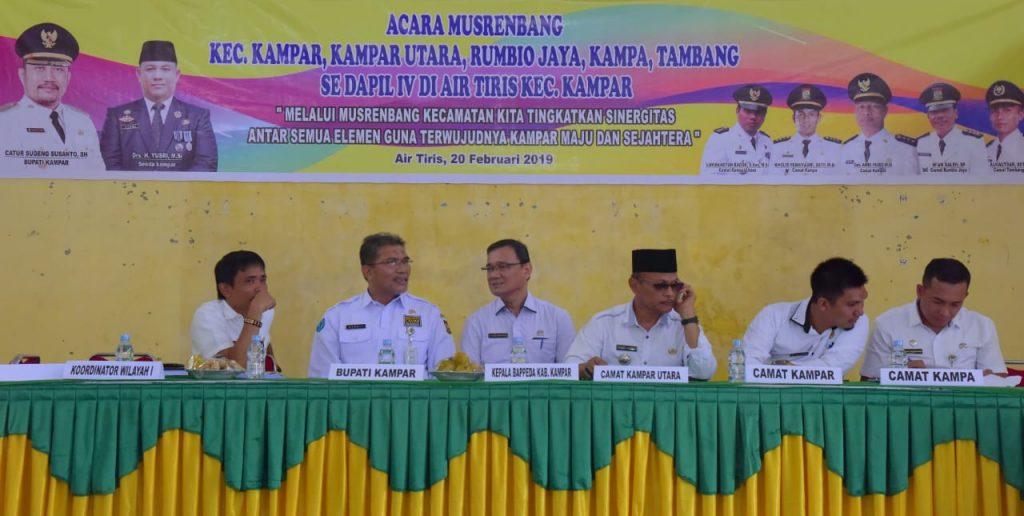 Musrembang RKPD Dapil IV Tahun 2019