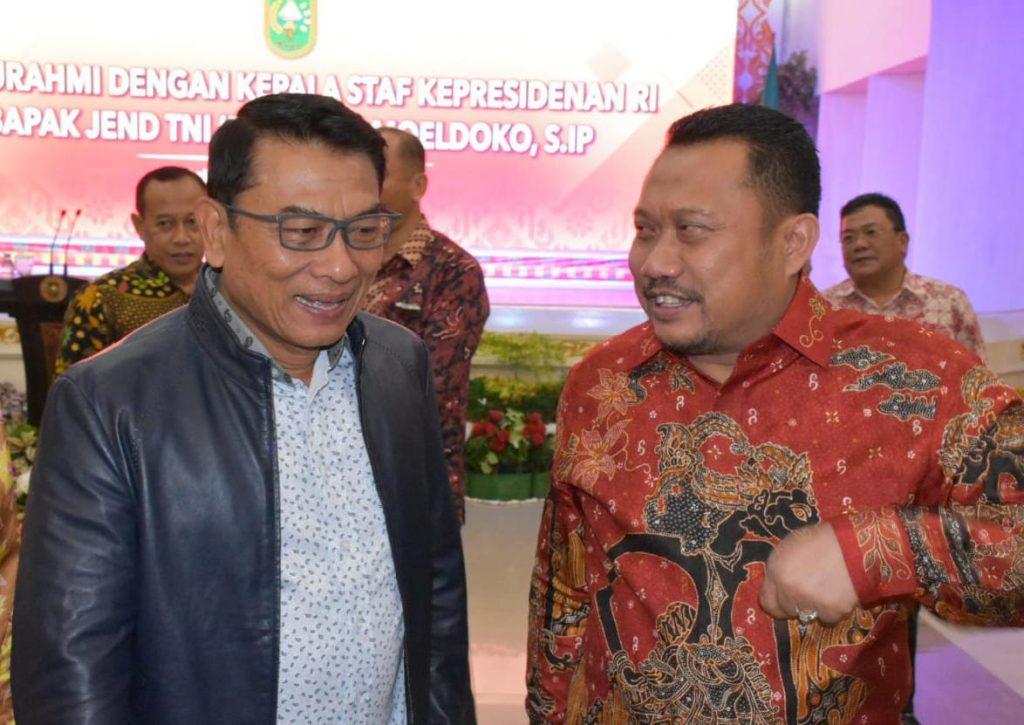 Bupati Kampar Silaturahmi Dengan Kepala Staf Kepresidenan