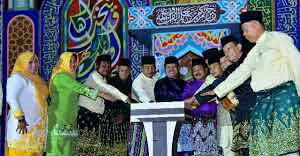 Pembukaan MTQ Ke-XXX Tahun 2019 Tingkat Kecamatan diGelar diKecamatan Bukit Batu Turut Hadir Anggota DPRD Bengkalis hj .Aisyah Dan Febriza Luwu