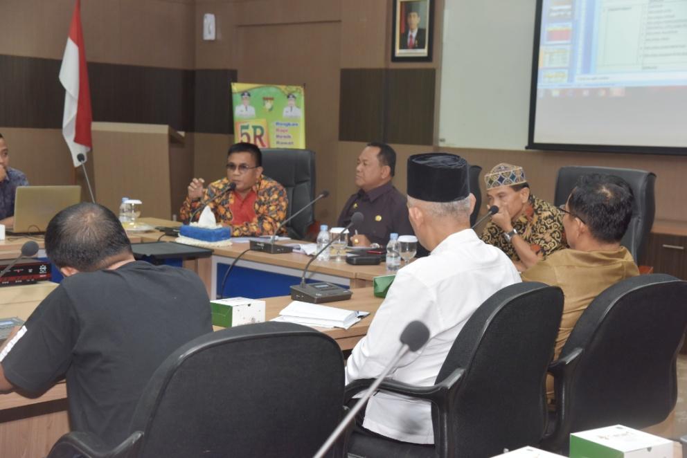 Rapat Persiapan Kampar Tuan Rumah MTQ Tingkat Provinsi Riau