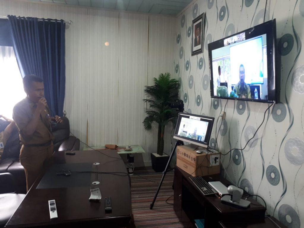 Pemkab Kampar Siap Laksanakan Teleconfrense
