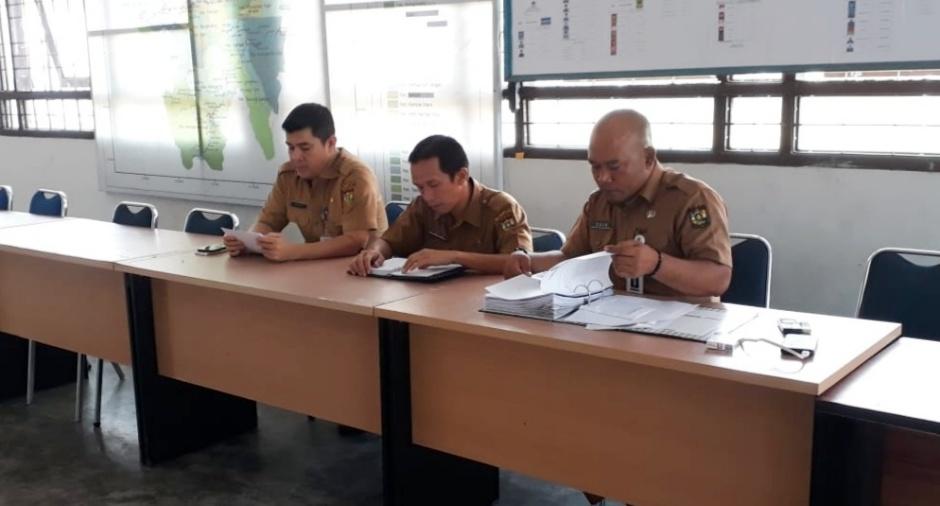 Rapat Sekretariat Desk Pemilu Kabupaten Kampar Tentang Persiapan Desk Pemilu 2019