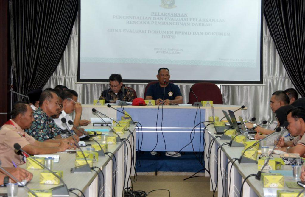 Susun Program Pembangunan Daerah, Sekda Minta Program Mengacu Kepada Visi dan Misi Daerah