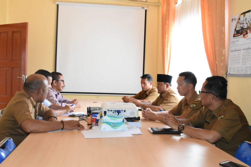 Sekda Kampar Pastikan Kesiapan KPU Kampar Untuk Pemilu 2019