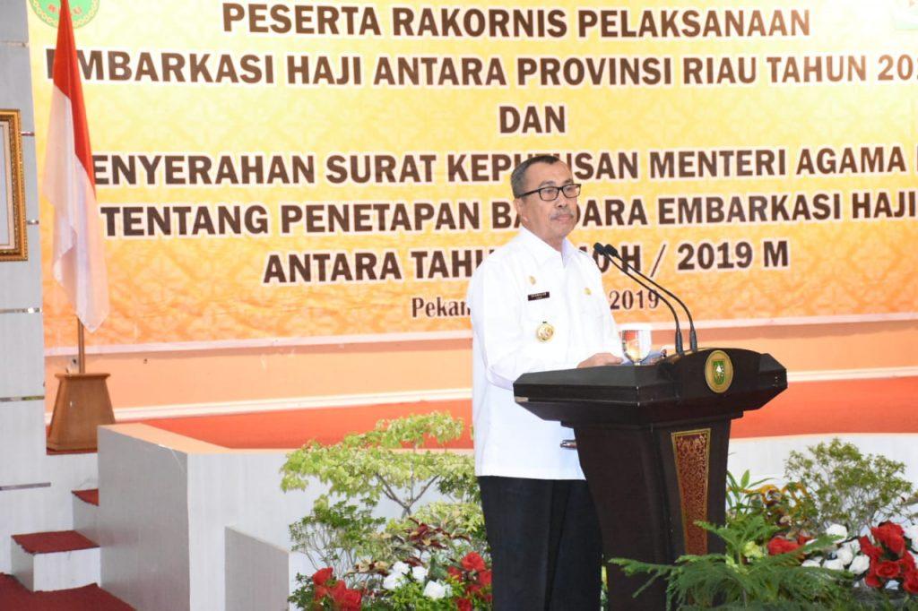 Tahun Ini Provinsi Riau Miliki Embarkasi Haji