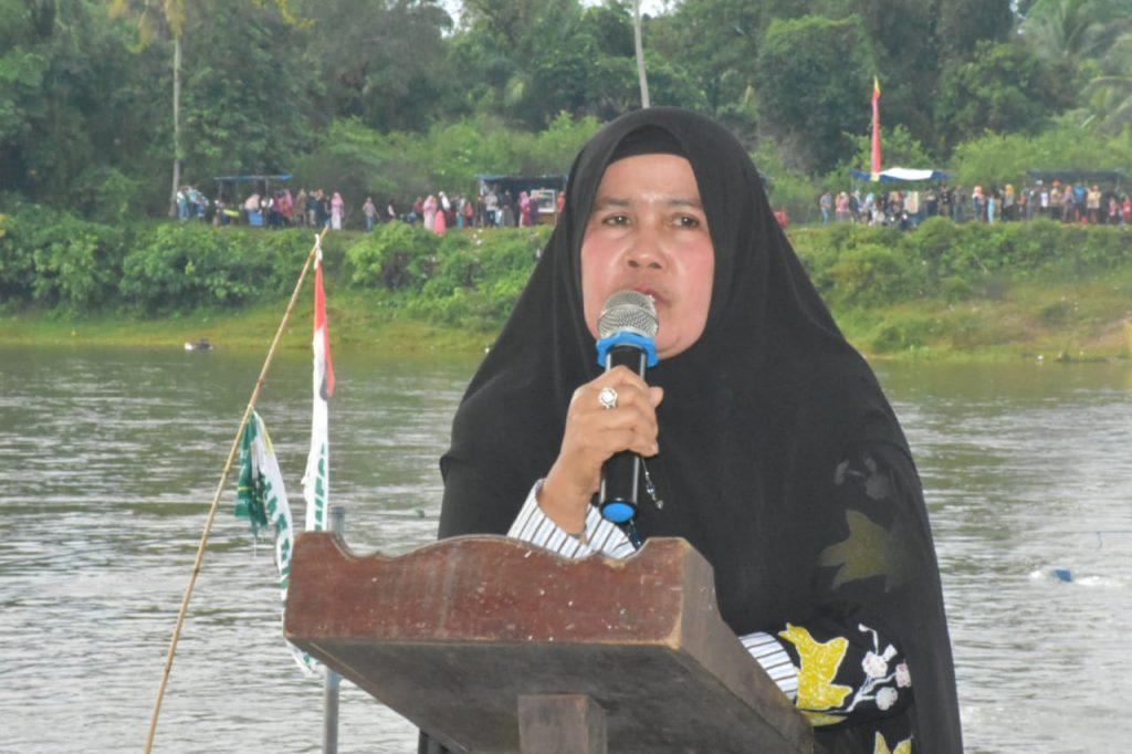 Balimau Kasai Pulau Belimbing Kuok, Ganting Damai Juara Pacu Tongkang