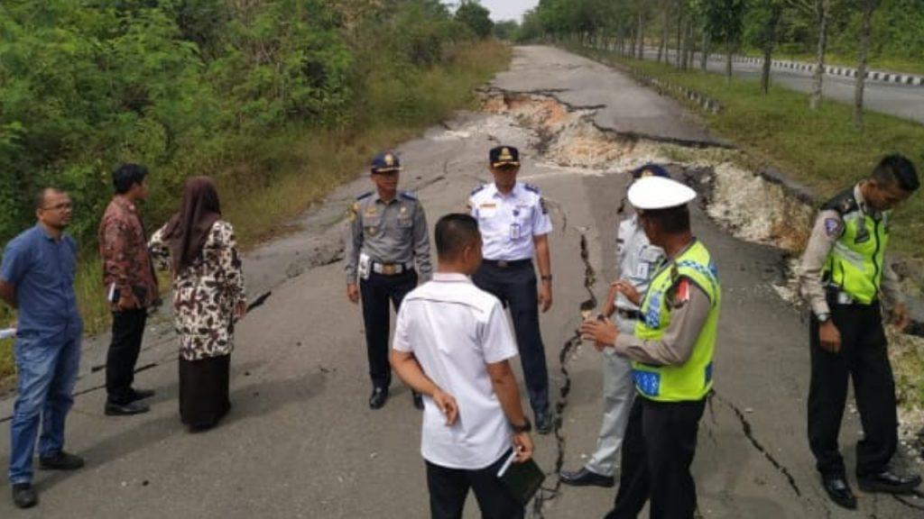Forum LLAJ Kabupaten Kampar Adakan Rakor dan Survei Jalan Lingkar Kota Bangkinang