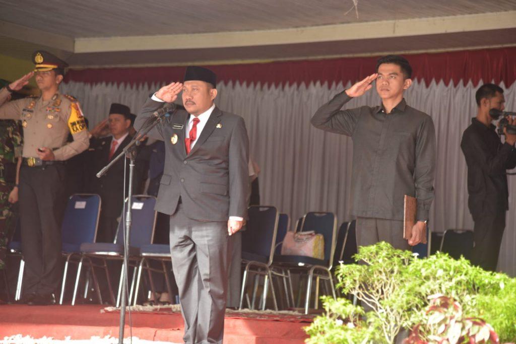 Pimpin Upacara Peringatan Hari Kebangkitan Nasional Ke 111, Bupati Ajak Masyarakat Kampar Jaga Persatuan dan Kesatuan