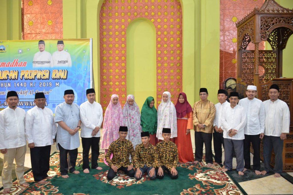Safari Ramadhan Gubernur Riau di Kabupaten Kampar