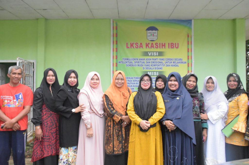 Muslimawati Catur : Berikan Motivasi dan Semangat Kepada Anak Panti Asuhan Kasih Ibu