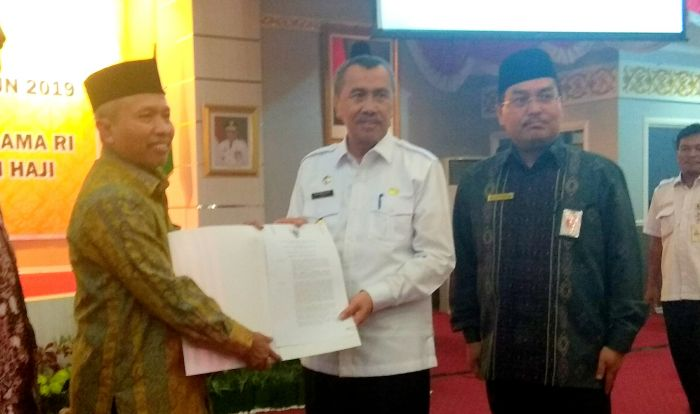 Gubri Kenang Perjuangan Pemprov Riau Untuk Mendapatkan SK Embarkasi Haji Antara