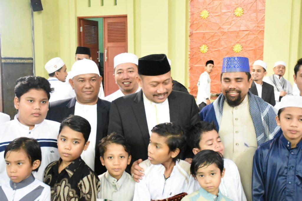 Bupati Kampar beserta Forkopimda Sholat IED di Islamic Center