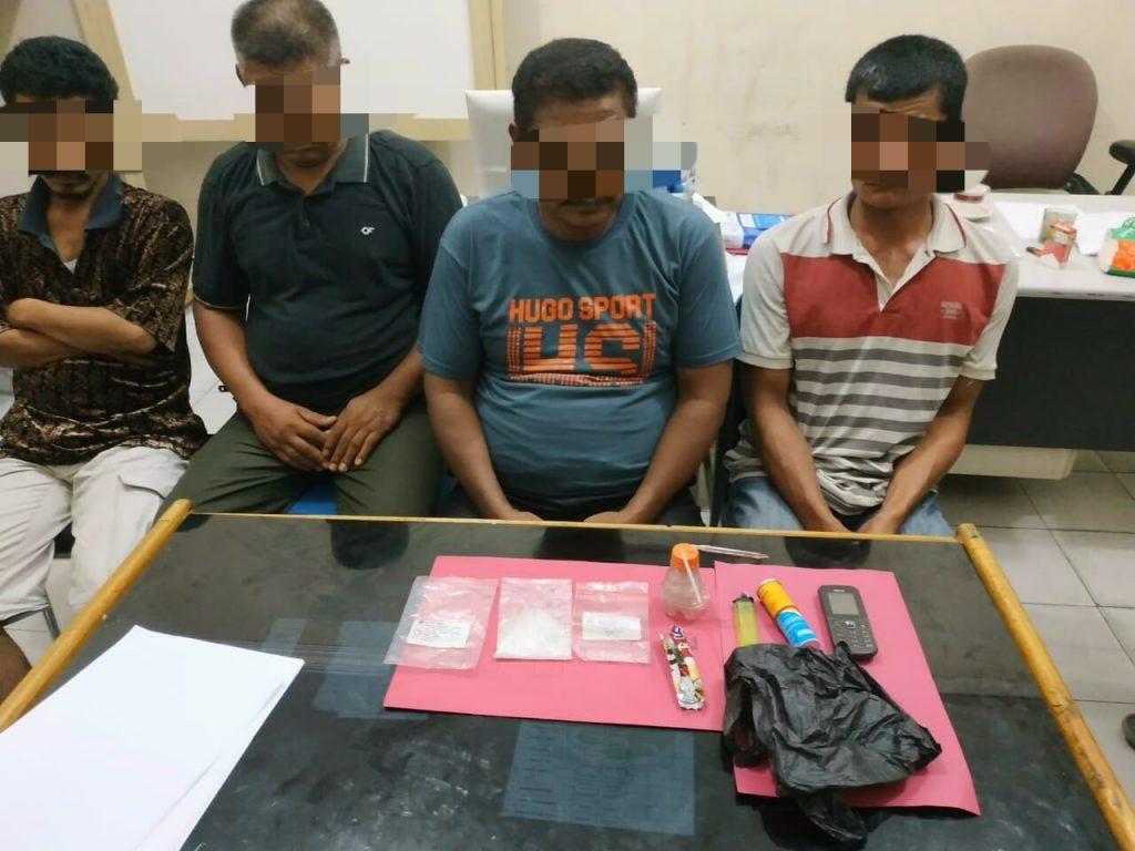 Kurang Dari 24 Jam, 11 Pelaku Narkoba Disikat Resnarkoba Polres Kampar Dibeberapa Lokasi