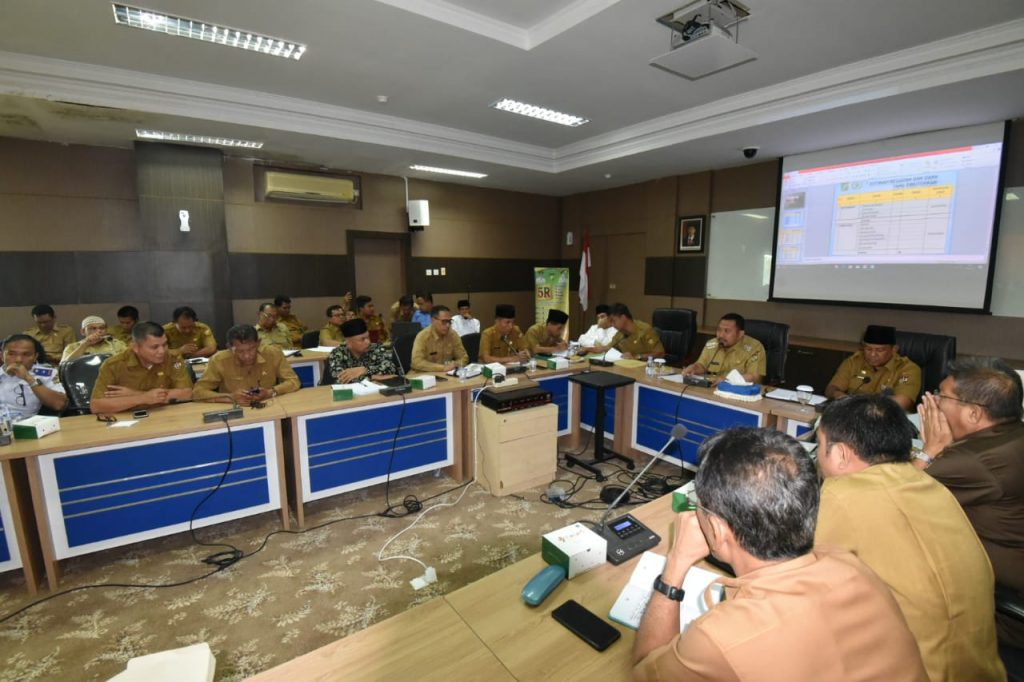 Bupati Kampar Pimpin Rapat agenda Daerah