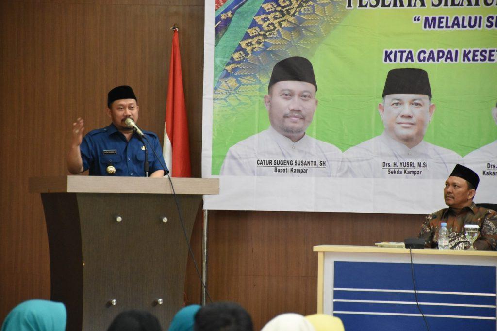 Silaturahmi Dengan Kepala PDTA Se-Kabupaten Kampar