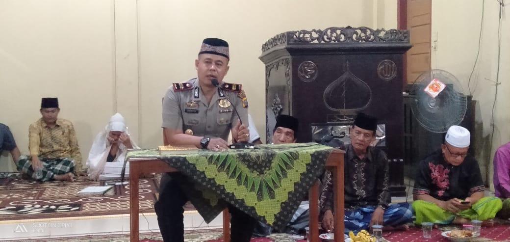 Sambut HUT Bhayangkara ke 73, Polsek Benai Laksanakan Kegiatan Pengajian dan Tausiah