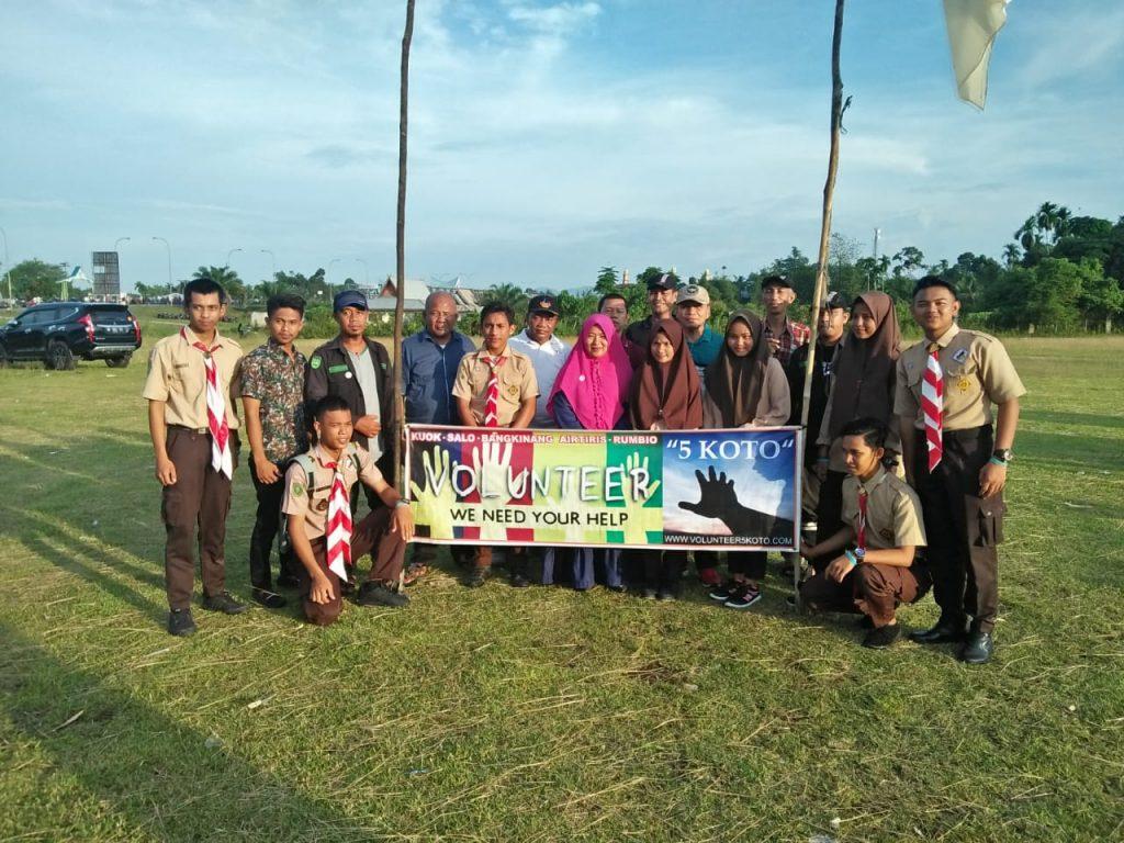 Volunteer Limo Koto Berikan Dukungan Aksi Sejuta Pohon DLH Kampar