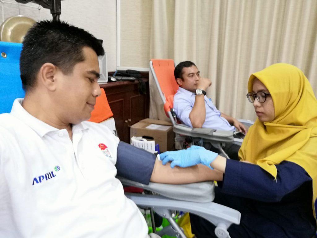 Give Blood Give Life,KDD RAPP Adakan Donor Darah Ke 58