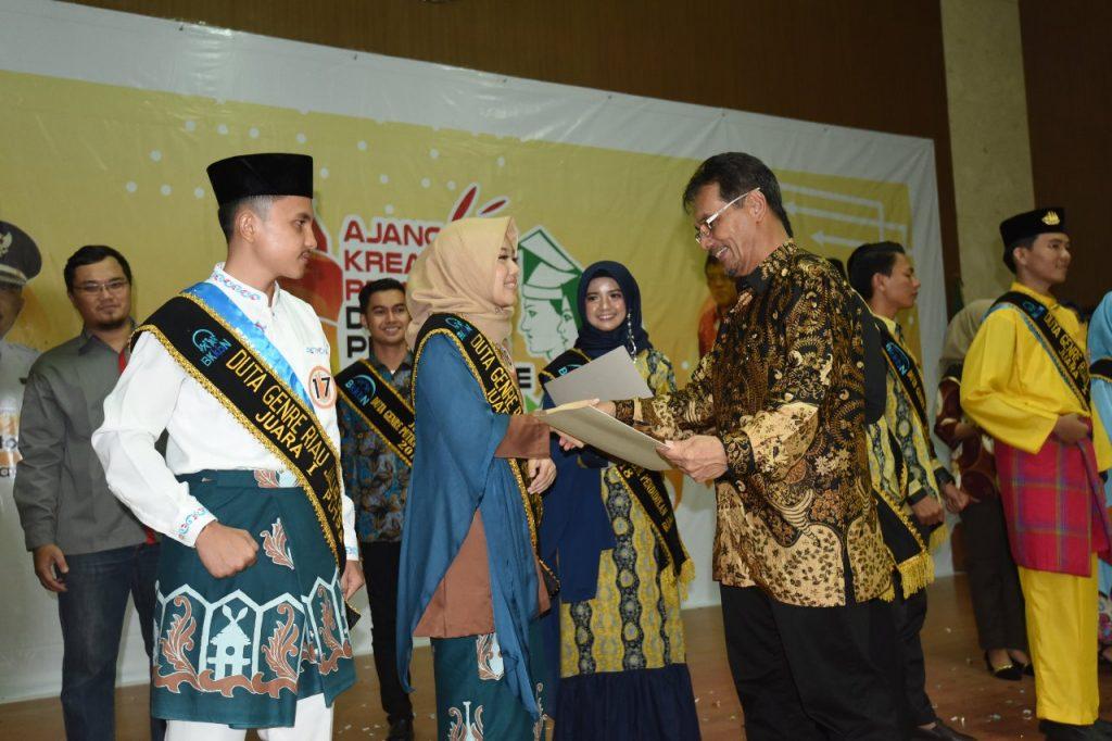Pemilihan Duta Genre Riau 2019 Secara Resmi diTutup