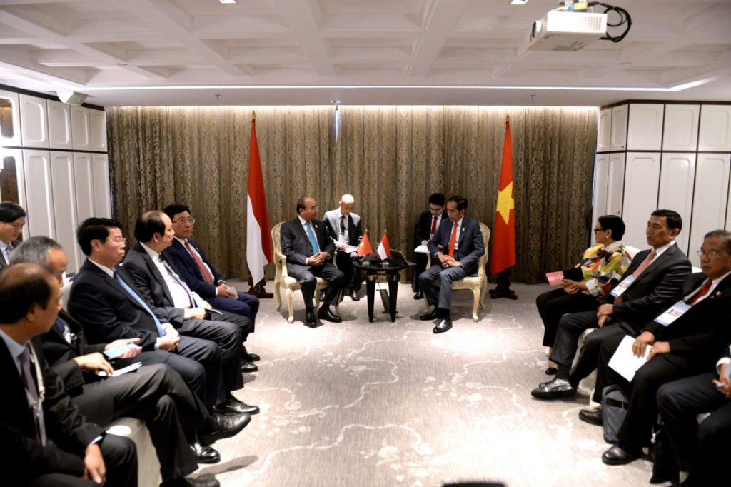 Bertemu PM Vietnam, Presiden Jokowi Dorong Penyelesaian Perundingan Batas ZEE Indonesia-Vietnam