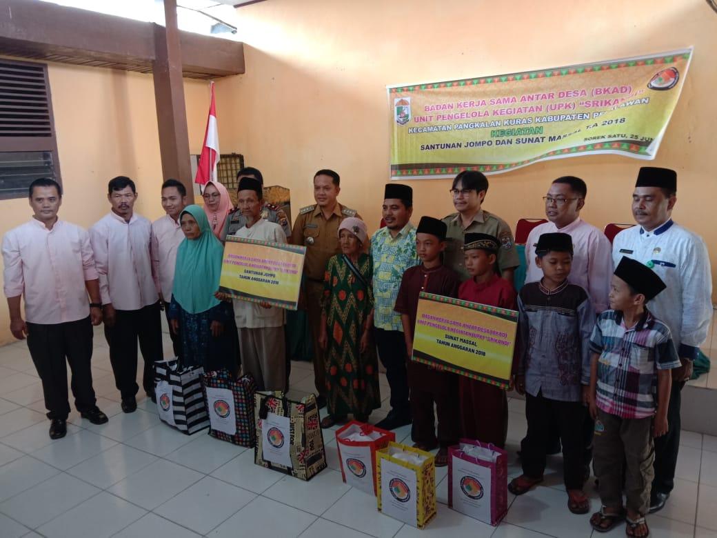 Badan Kerja Sama Antara Desa Santuni Orang Tua Jompo Dan Sunat Masal