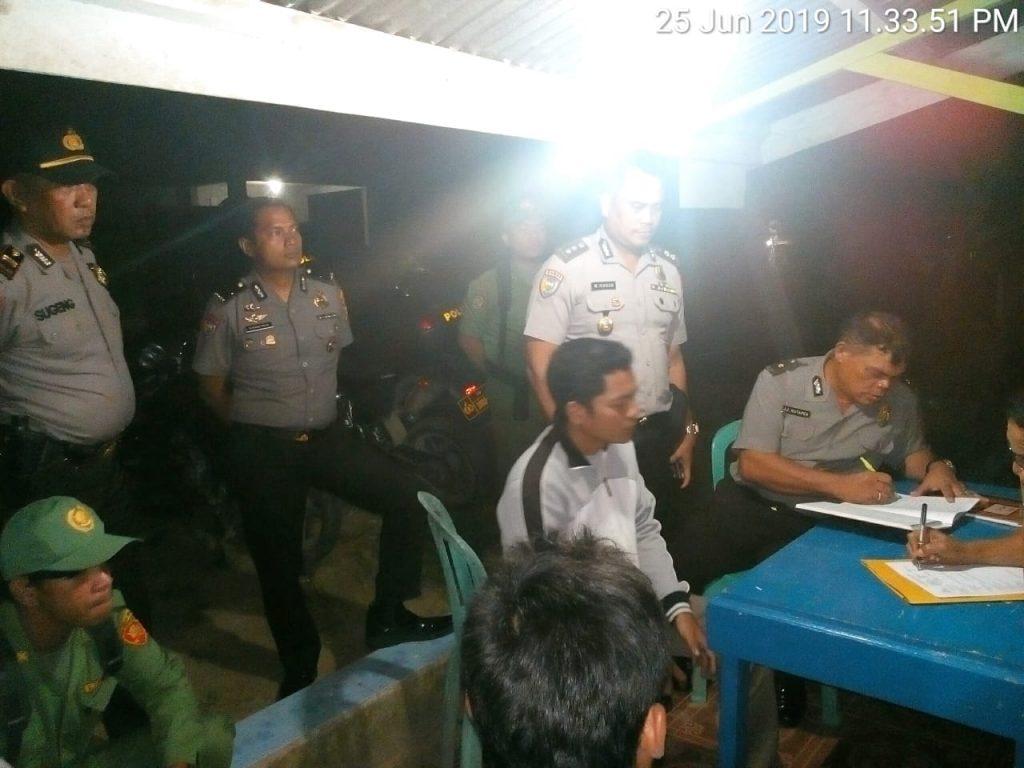 Ditbinmas Polda Riau Lakukan Penilaian Pos Kamling di Wilayah Hukum Polsek Benai