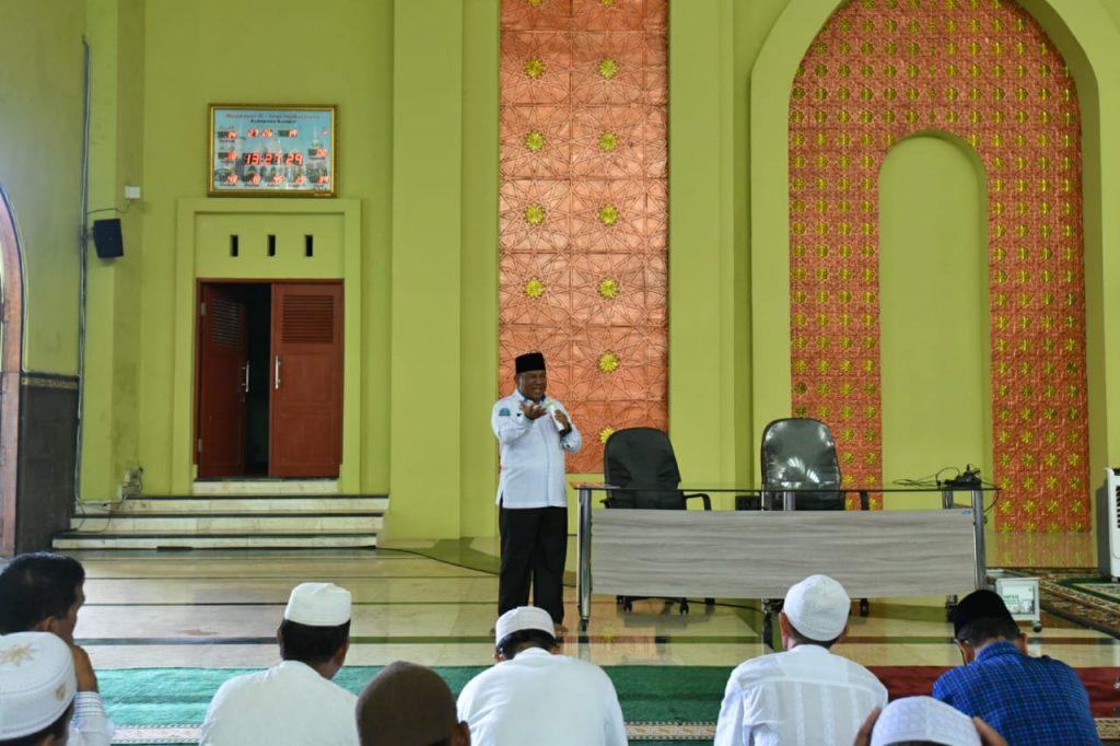 Jemaah Calon Haji tahun 2019 Kabupaten Kampar diminta Ikhlas