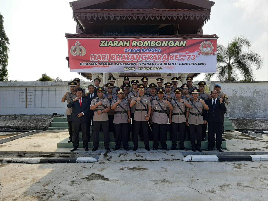 Kapolres Kampar dan Ketua Cab. Bhayangkari Kunjungi Warakawuri Jelang Hari Bhayangkara Ke-73