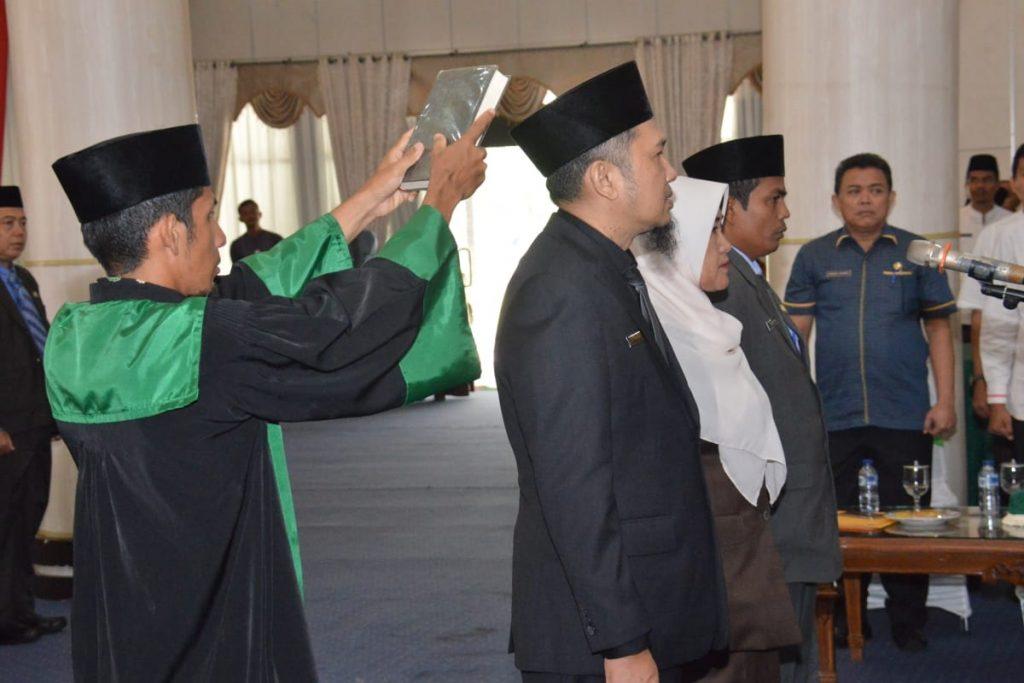 Bupati Kampar melantik Direktur RSUD Bangkinang