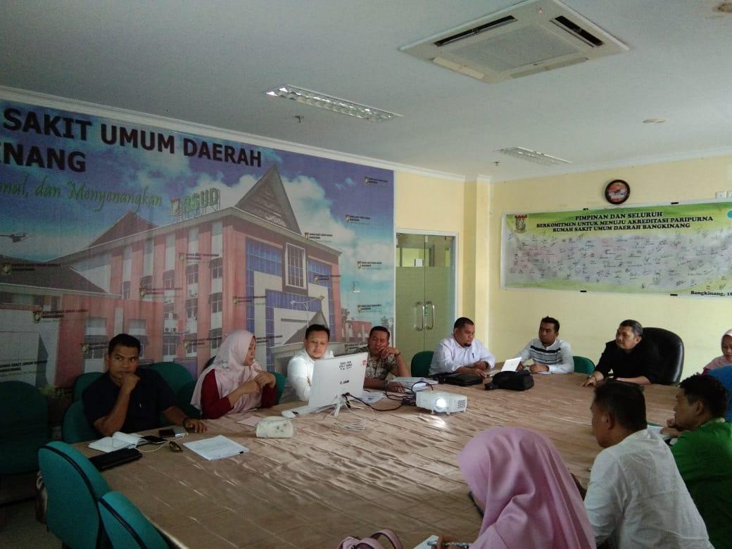Pagi Dilantik Jadi Direktur, Siang Langsung Action, Sidak Ruangan di RSUD Bangkinang