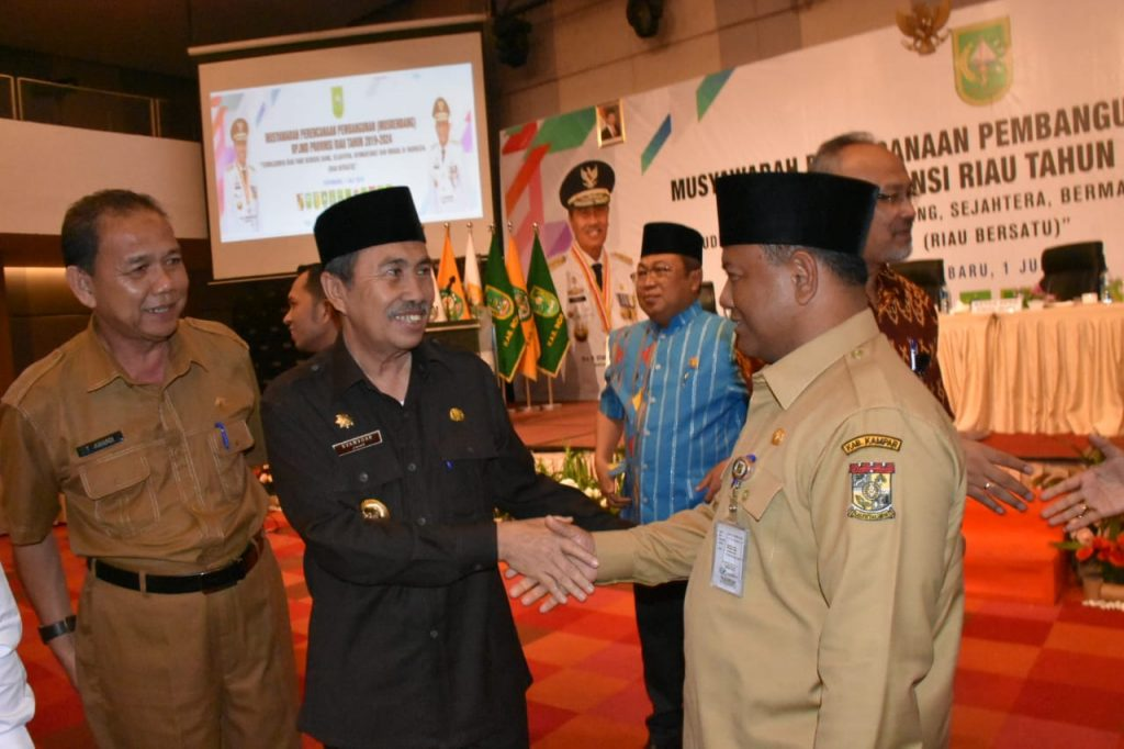 Gubernur Buka Musrenbang Provinsi Riau 2019-2024