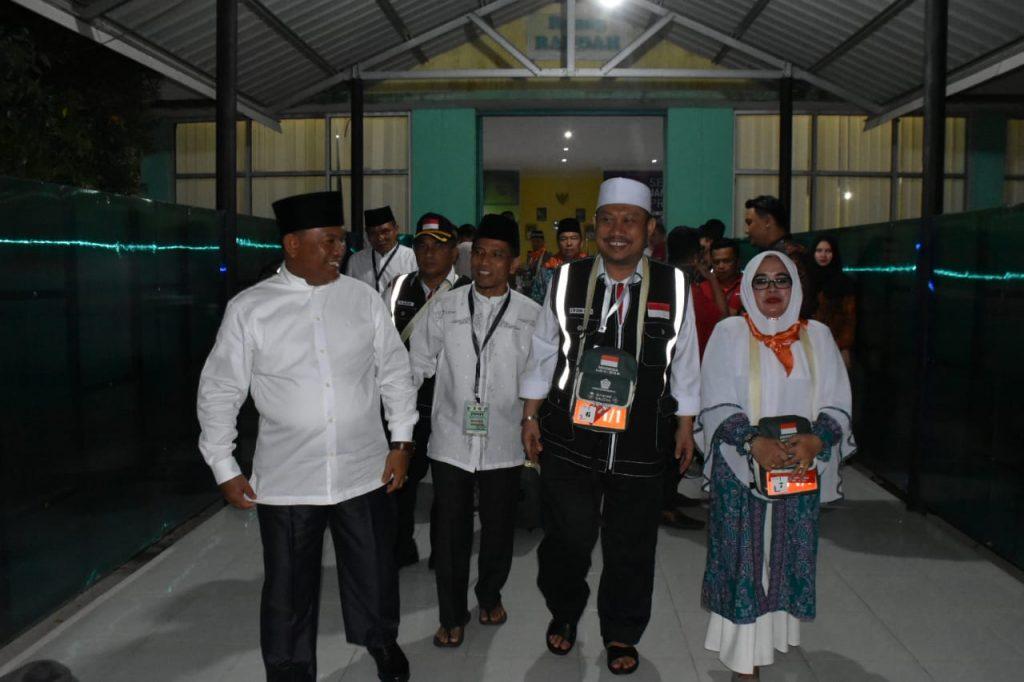 Jama'ah Calon Haji Kloter 07 Resmi Dilepas Keberangkatan