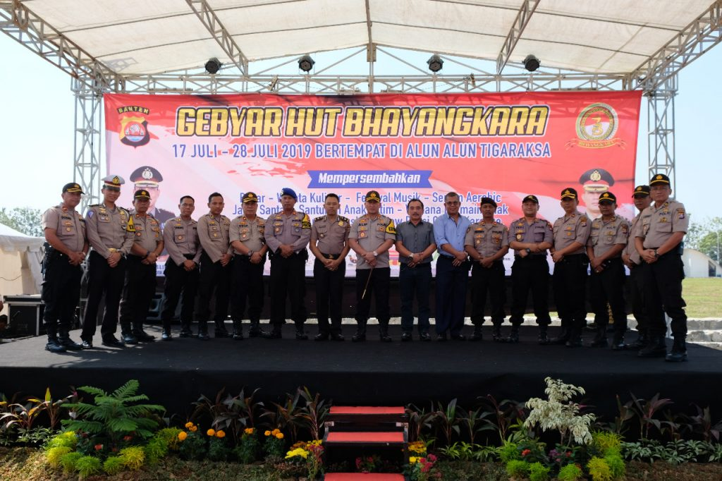 Polresta Tangerang Gelar Gebyar Hari Bhayangkara Ke 73 Tahun
