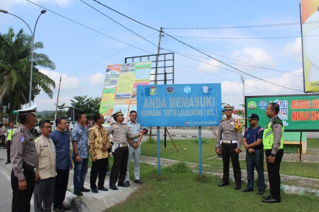 Satlantas Polres Kampar Raih Juara I Lomba Road Safety Partnership Action (RSPA) Se-Riau
