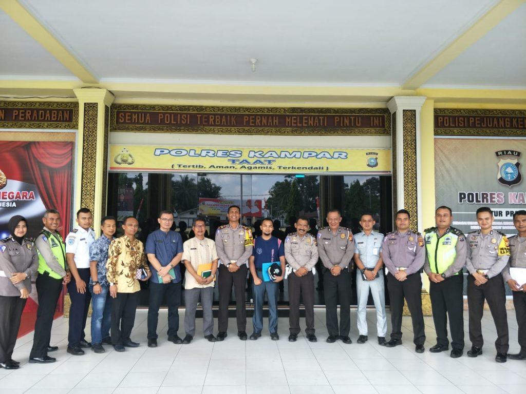 Setelah Juarai Lomba RSPA Se-Riau, Satlantas Kampar Akan Ikuti Lomba RSPA Tingkat Nasional