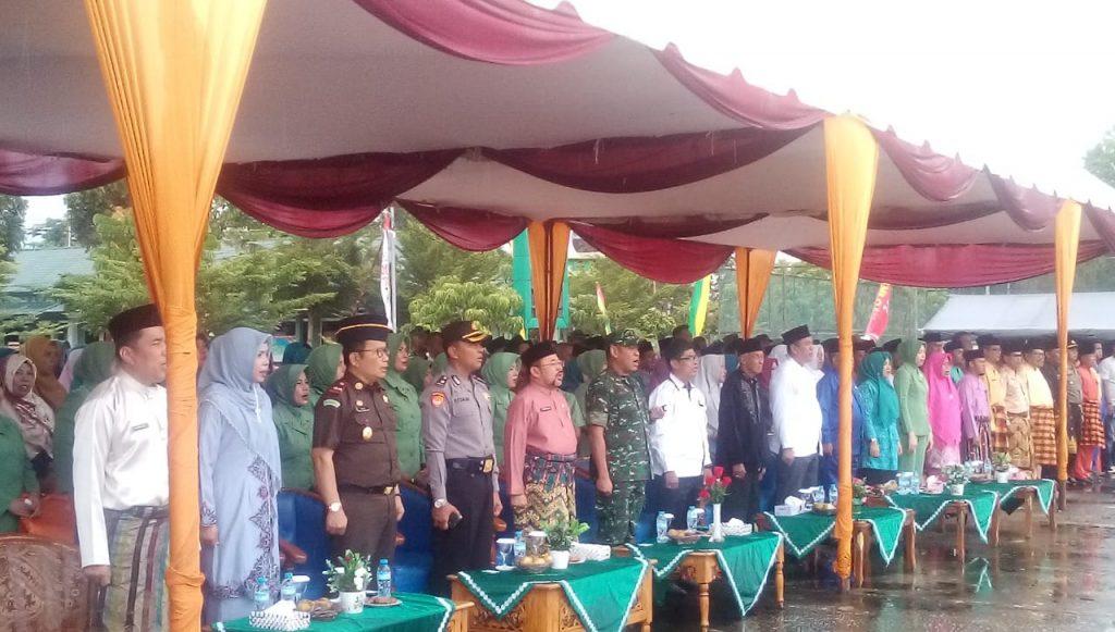 Sekda Bengkalis Hadiri Acara TNI Manunggal KB Kesehatan KKBPK Dan Peringatan Harganas 2019