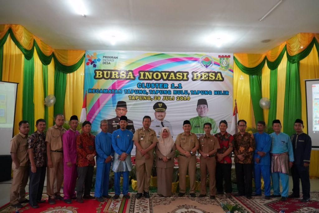 Bursa Inovasi Desa Cluster 1.1 Dibuka Wilayah Tapung Raya