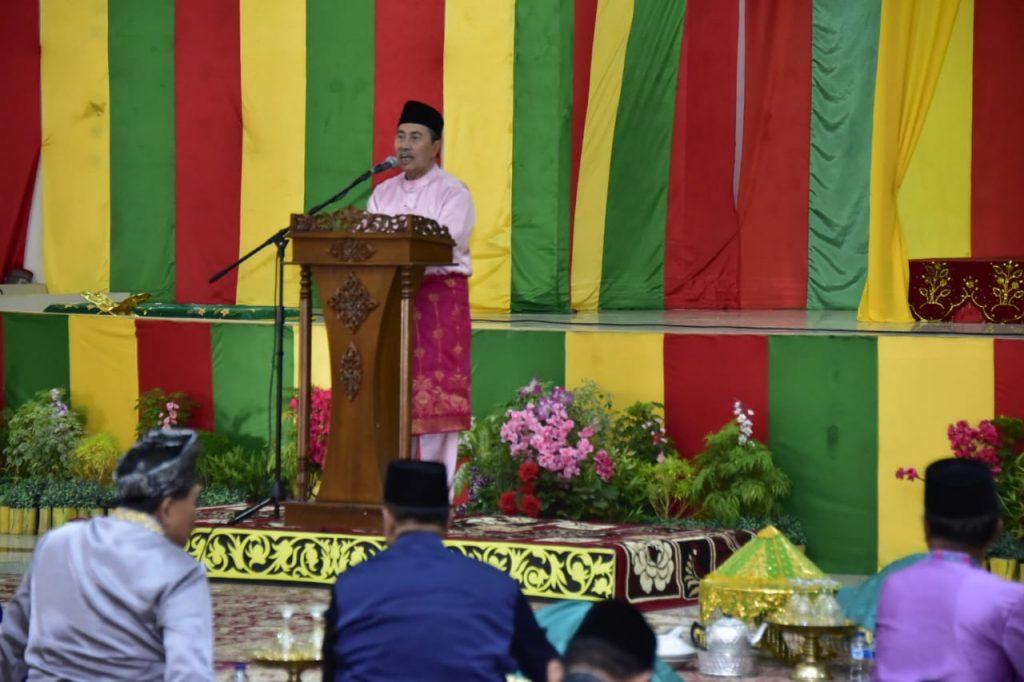 Kenduri Adat Hari Jadi Ke-507 Di LAM Riau Bengkalis