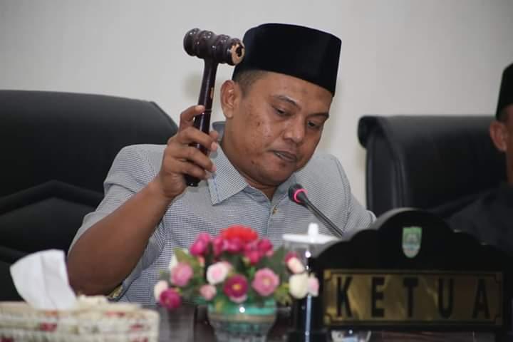DPRD Rohul Gelar Rapat Paripurna Laporan Pansus LKPj Bupati TA 2018 Dan Dua Ranperda