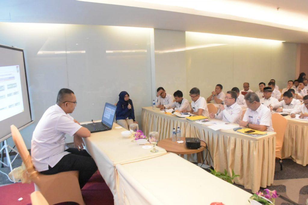 Terkait SAKIP, 32 OPD Pemkab Kampar Ekspose di Hadapan Kementerian PAN-RB