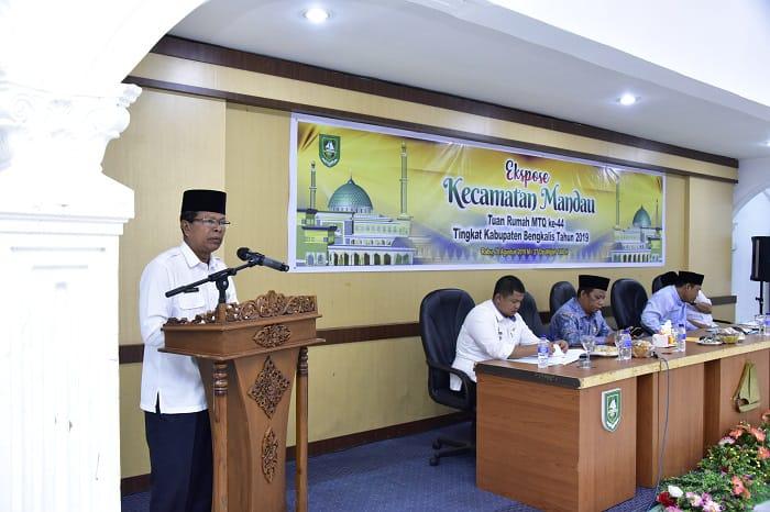 Exspose Persiapan Pelaksanaan MTQ Ke-44 Tingkat Kabupaten Bengkalis