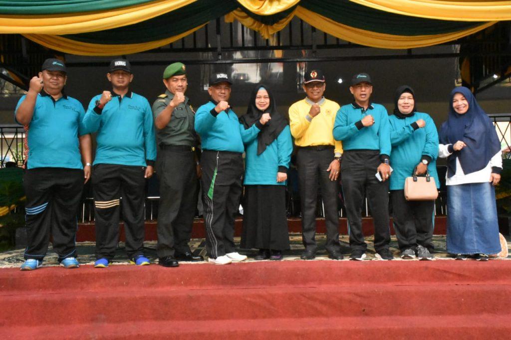 Hari Olahraga Nasional Ke-36,Sekda Kampar : Ayo Aktif Berolahraga