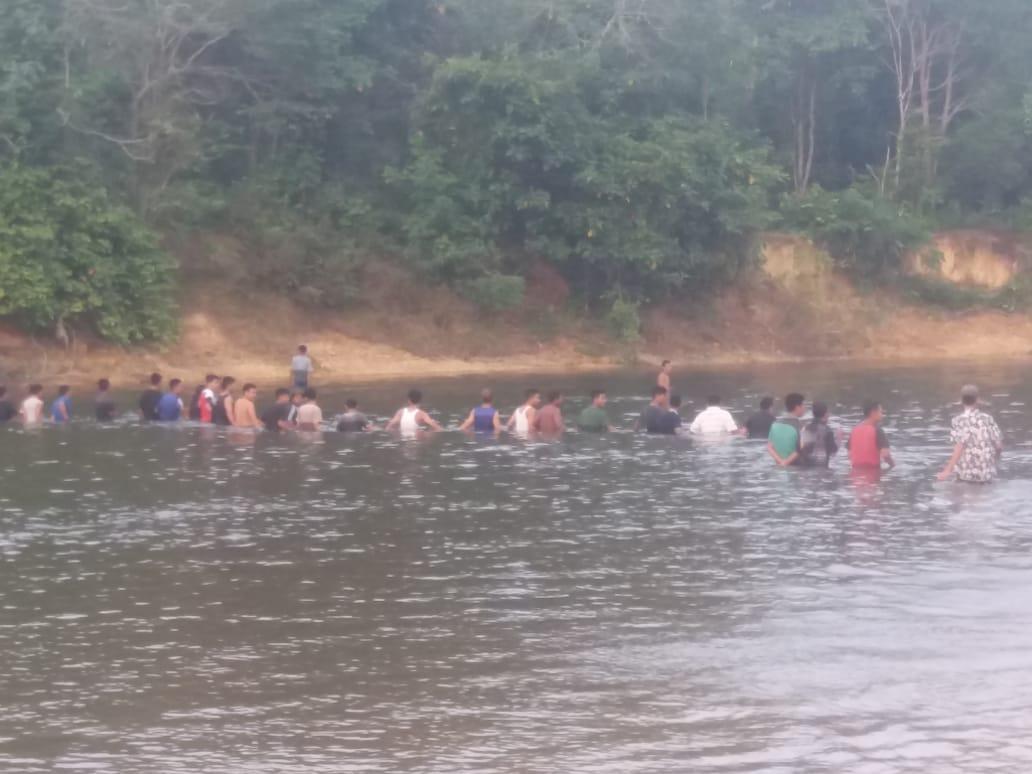 2 Bocah Laki-Laki Terseret Arus Sungai Subayang, 1 orang Berhasil Diselamatkan dan 1 Tewas