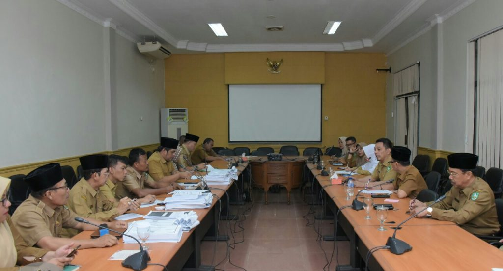 Sekretariat DPRD Gelar Rapat Persiapan Pelantikan Anggota DPRD