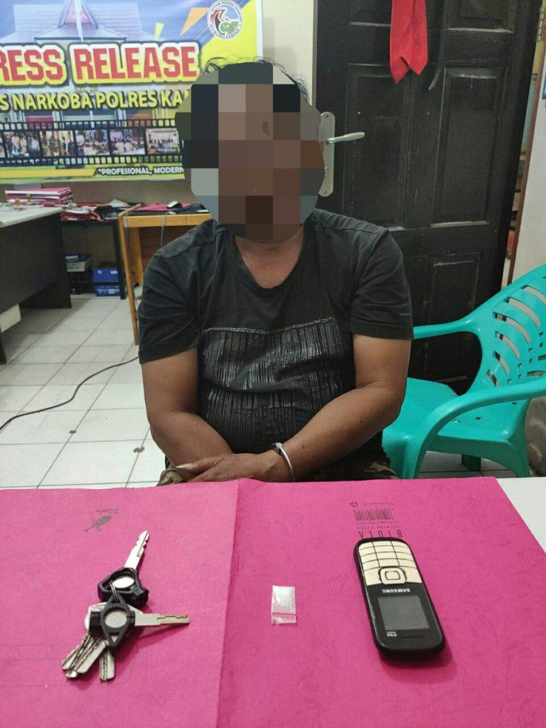 Seorang Warga Ditangkap Polisi Saat Akan Bertransaksi Shabu