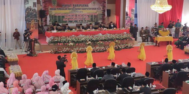 Pelantikan Anggota DPRD Rohil Terpilih Periode 2019-2024